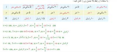 مثال ریاضی 11ف4 - گام به گام فصل چهارم ریاضی یازدهم تجربی | حل تمرینات و فعالیت ها و کاردرکلاس ها