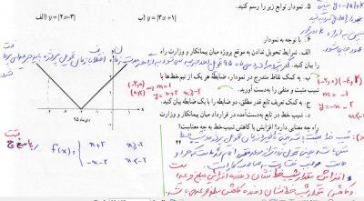 مثال ف دوم ریاض 11 انسانی.2 - گام به گام فصل دوم ریاضی آمار یازدهم