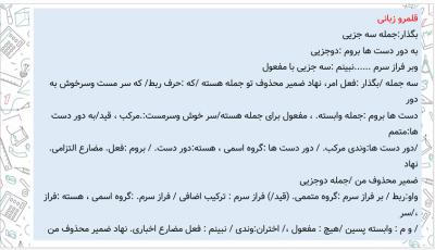 درس 18 فارسی یازدهم - پاورپوینت ادبیات فارسی یازدهم | درس هجدهم