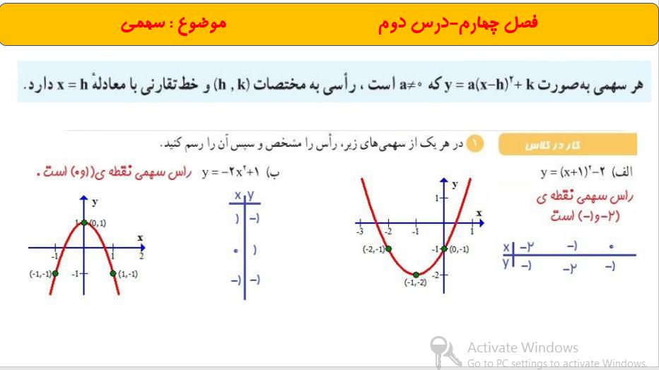 02 1 - پاورپوینت فصل چهارم ریاضی دهم تجربی و ریاضی